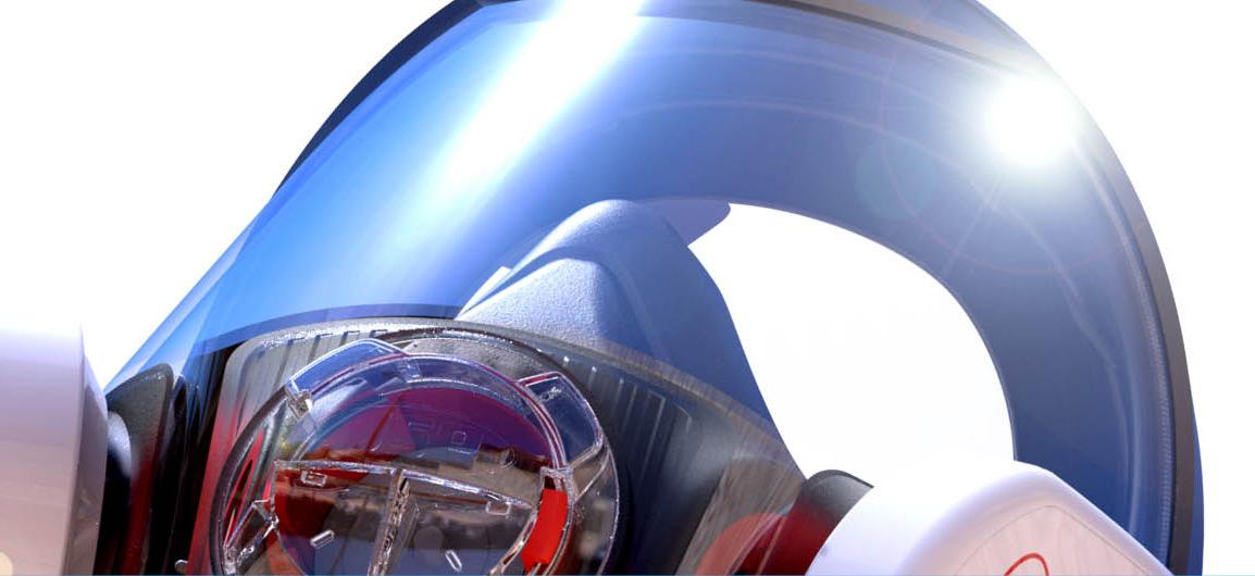 Class 1 optical panoramic visor